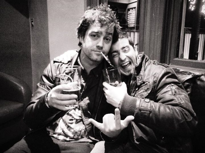 Ky we miss you brother! Hope you're all drunk by now. We're recording our new single soon! Cheers an…