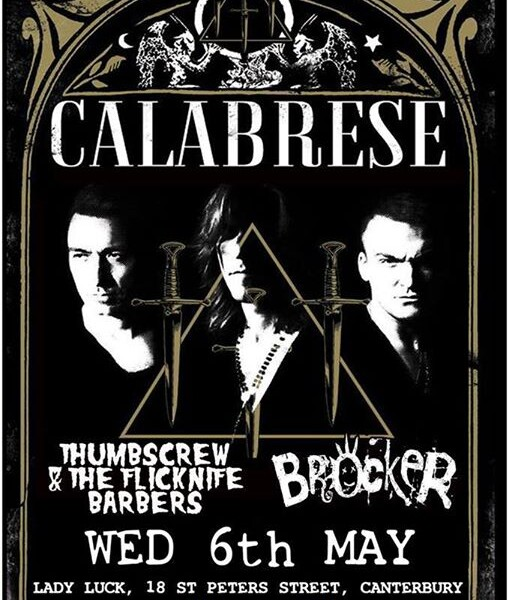 CANTERBURY! We're coming for you next Wednesday 6th of May at the amazing The Lady Luck Bar supporti…