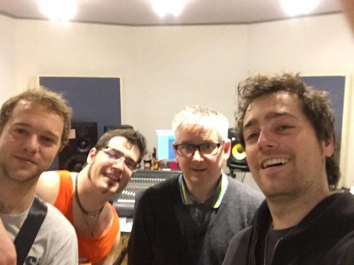 Recording has begun!! #brockerluck #rocknroll #paultipler #unit13