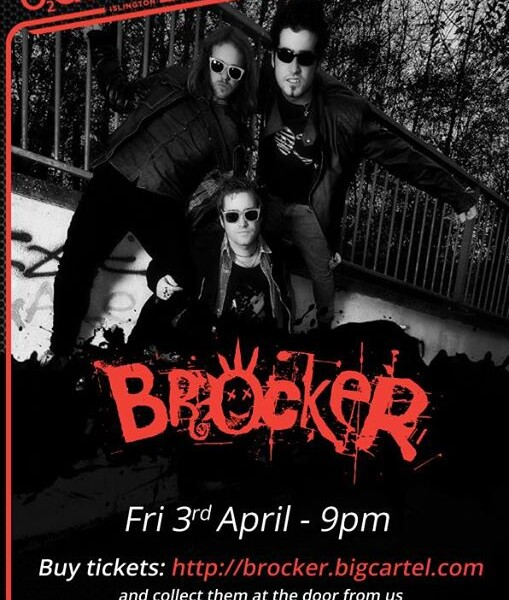 LONDON!! Don't forget we play at the O2 Academy Islington on Good Friday 3rd April – we still have s…