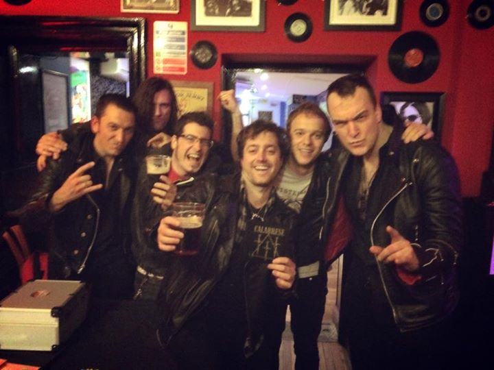 Smashed The Lady Luck Bar! Here's us with CALABRESE. Awesome guys and great gig!