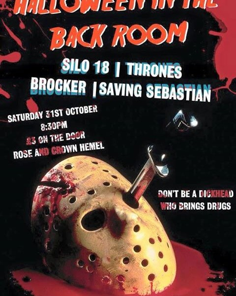 HALLOWEEN IS COMING! This year we're back again in Hemel Hempstead @ The Rose & Crown, The Backroom!…