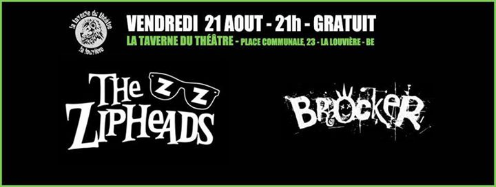 Belgium Tour with The Zipheads  First date in Belgium at La Taverne du Théâtre.  Van hired and fer…