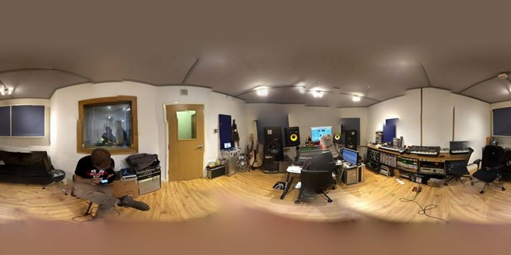Some pictures from our recording session with producer Paul Tipler of our new single. Sounding good!