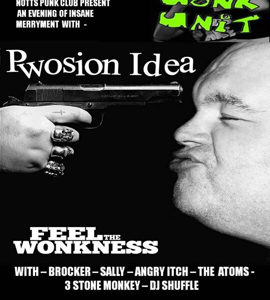Well excited about this! This Sat 6th June we'll be in Nottingham playing with punk rockers WONK UNI…
