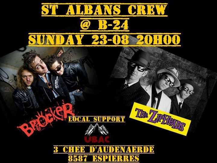 BELGIUM! On Saturday we embark ourselves along our mates and awesome The Zipheads to Belgium for a 3…