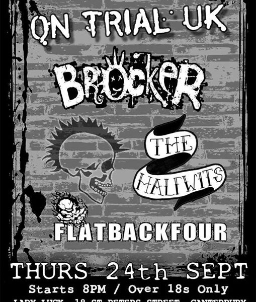 Next Thursday we return to the amazing The Lady Luck Bar in Canterbury! Great line up – see ya at th…