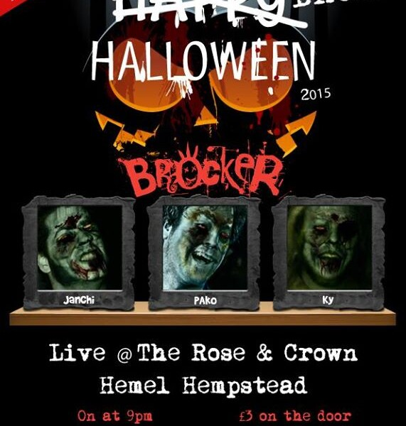 Happy drunk Halloween zombies! Tonight we're back at the The Rose & Crown, Hemel Hempstead! Sick lin…