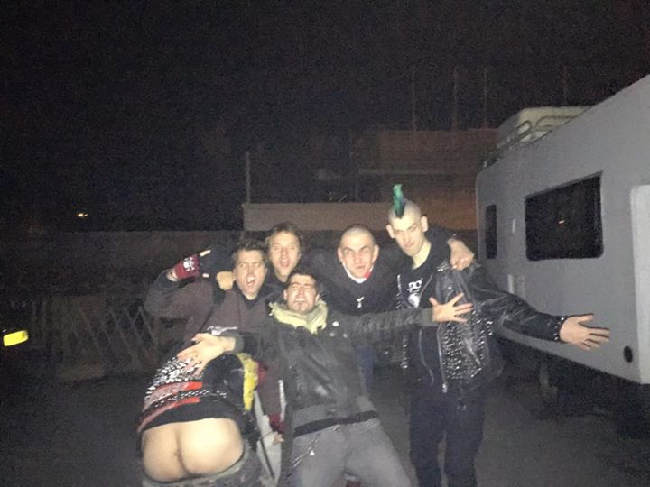 Amazing night in Cambridge tonight. Even with someone's ass hanging around!