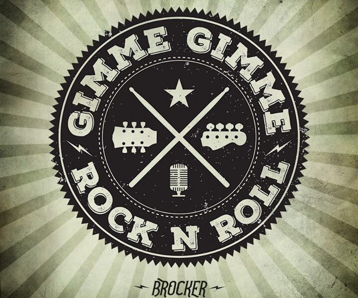 "It's Friday! So we thought we'll show you the artwork for our upcoming new single ""Gimme Gimme Rock …"