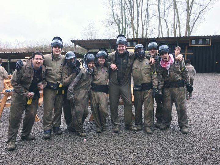 A little bit of paintball with our mate Eoin on his 30th birthday before we head to Welwyn and smash…