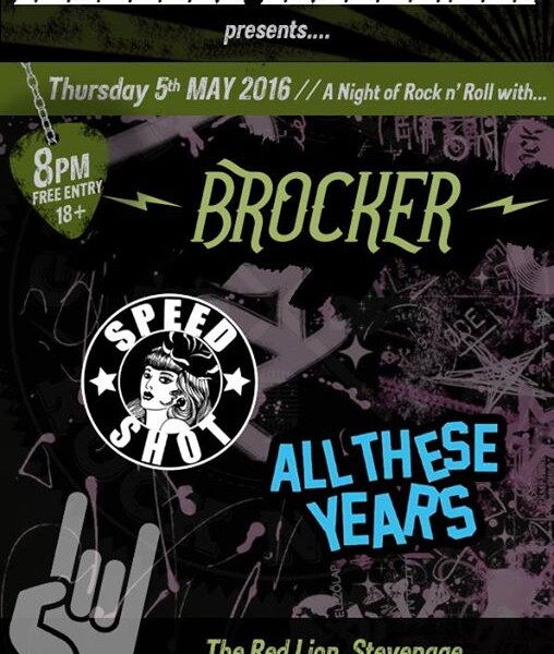 STEVENAGE! We're coming back to the Red Lion Stevenage on Thursday May 5th May w/ All These Years an…