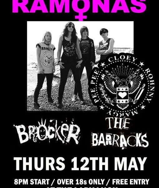 TONIGHT! We are back at the The Lady Luck Bar with The Ramonas and The Barracks! It sure is gonna be…