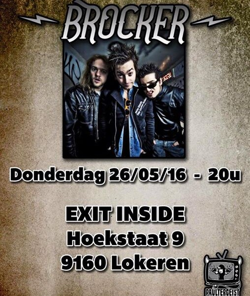 BELGIUM! We'll be in Lokeren tomorrow at the Exit Inside. First date of our EU tour, roadtrip!