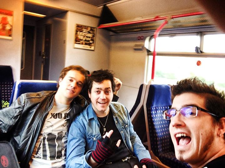On our way to the O2 Academy Islington. On at 9pm!