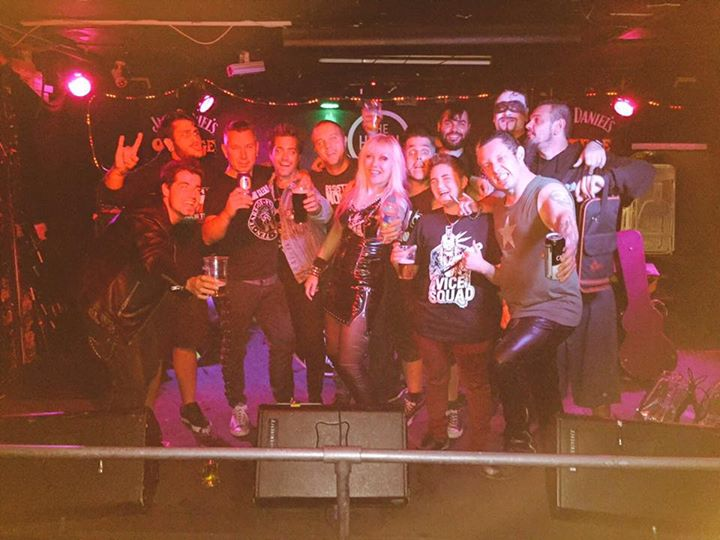Wow, what a night! A million thanks to everyone who came and showed their support. Vice Squad were a…