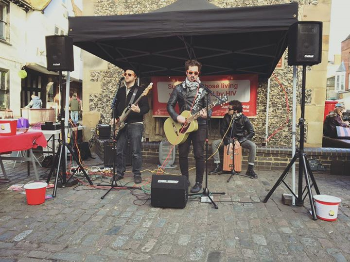 Great day of acoustic acts in St Albans Clock Tower in support of Crescent Support Group. Thanks to …