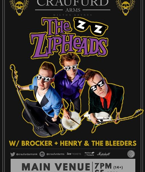 Next Saturday in Wolverton, Milton Keynes! Once again with our good mates The Zipheads at The Craufu…