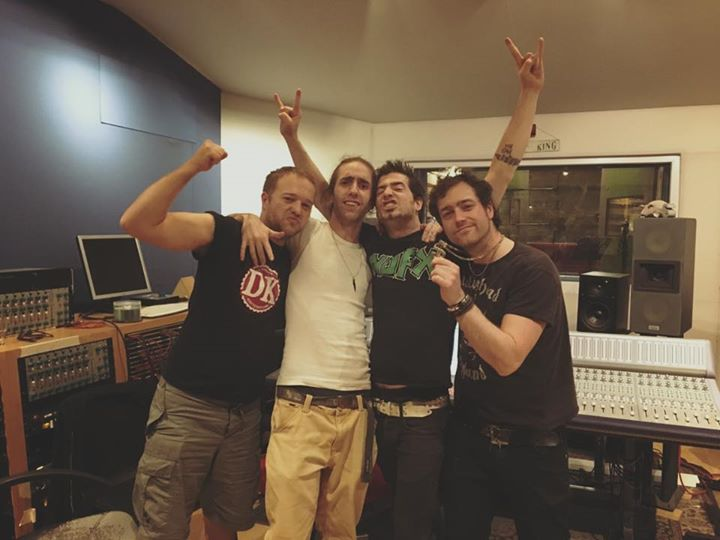 DAY 10: We've done it! We finished recording the album! 10 days, more than 120 hours of work and fiv…