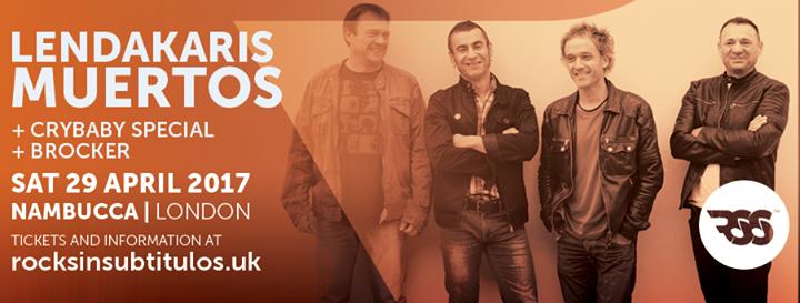 LONDON! Next Saturday we play Nambucca supporting Spanish punx Lendakaris Muertos. Doors 8pm! We're …
