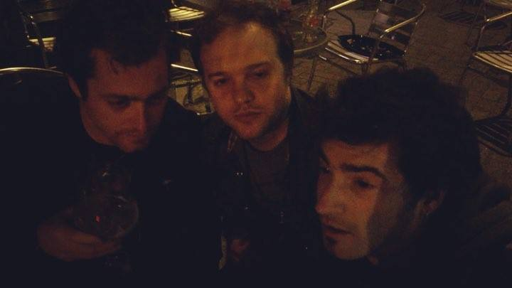 Post gig Belgium beers (oh and gig, i've forgotten we played and awesome set). Peace, drink and rock…