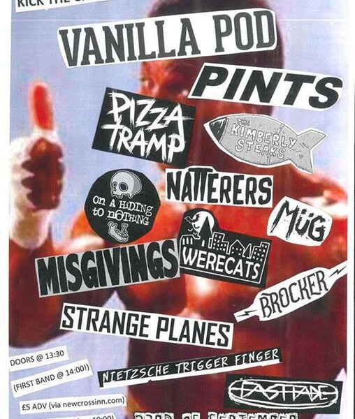 LONDON! We're playing with these amazing bands on Sat 23rd at 4.40pm at the New Cross Inn for the Ki…