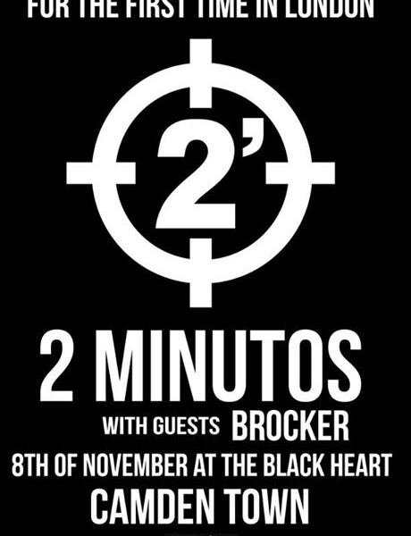 TONIGHT at The Black Heart, Camden with 2 minutos, coming all the way from Argentina! Some tickets l…