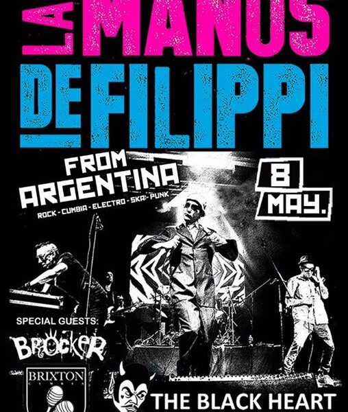 CAMDEN! Tomorrow we come back to the amazing The Black Heart supporting Argentinian punks LAS MANOS …