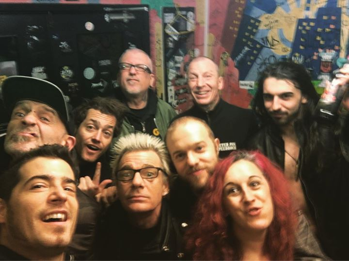 Amazing gig last night with @gbhofficialuk! Awesome band and awesome people. Thanks to Chelo and her…
