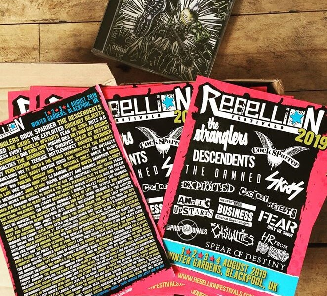 @rebellionfestival flyers are here! Thanks for sending   let the flyering begin! #rebellion #rebe…